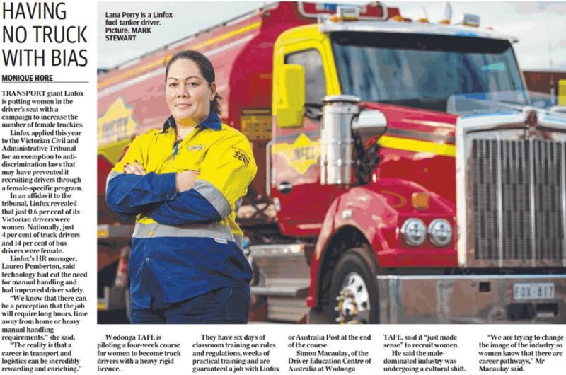 women truck drivers forum