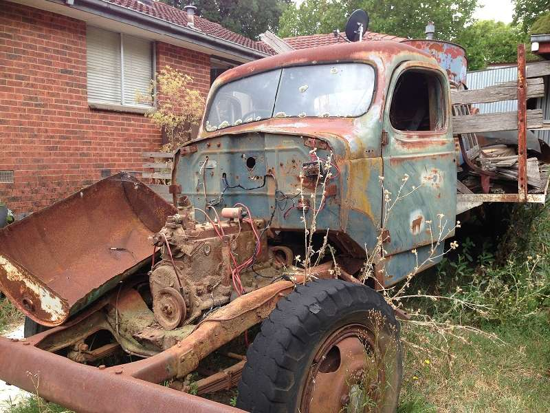 Old fargo truck for sale (1/1) - Historic Commercial Vehicle Club of ...