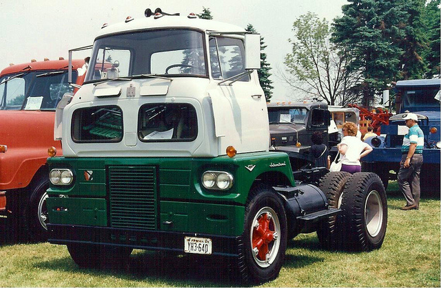 International Sightliner 11 Historic Commercial Vehicle Club Of